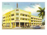 Hôtel Tiffany, Miami Beach, Floride Posters