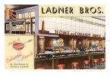 Ladner Brothers  Bar, Chicago, Illinois Lámina