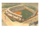 Wrigley Field, Home Grounds of Chicago Cubs Pósters