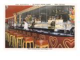 The Bonanza Cocktail Lounge, Reno, Nevada Pósters