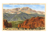 Pike's Peak, Colorado Posters