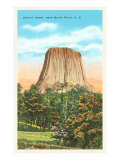 Devil's Tower, Black Hills, South Dakota Poster