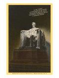 Lincoln Statue, Washington D.C. Prints
