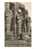 Ramesseum, Thebes, Egypt Poster