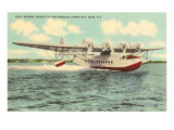 Pan-American Clipper Taking Off, Florida Julisteet