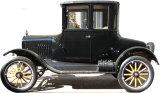 Classic Car Standup Kartonnen poppen