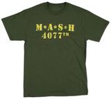 M.A.S.H. - Distressed Logo T-Shirts