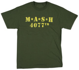 M.A.S.H. - Distressed Logo Camisetas