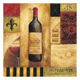 Chateau Vin Premium Giclée-tryk af Gregory Gorham
