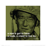 John Wayne: Creed Kunstdrucke
