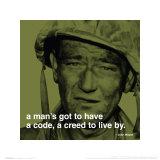 John Wayne: Creed Affischer