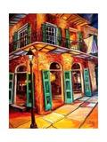 New Orleans Jazz Corner Prints by Diane Millsap