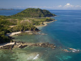 Coast at Nosy Be with Several Small Bays, North Madagascar Photographic Print by Inaki Relanzon
