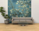 Branches d'amandier en fleurs, Saint-Rémy, 1890 Poster géant XXL par Vincent van Gogh
