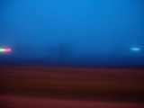 Blurred Road with Lights Art by Philippe Lejeaille