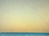 Sailboats under Pearl Sky Plakater av Robert Cattan