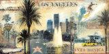 Los Angeles Posters by John Clarke