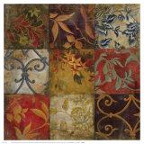 Floral Mosaic V Affiches par John Douglas