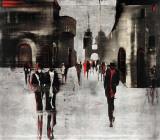 City Scene II Kunst van Elena Radzetska