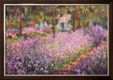 O Jardim do Artista em Giverny, c.1900 Pôsters por Claude Monet