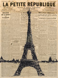 Paris Journal I Posters por Maria Mendez