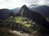 Inca Site, Machu Picchu, Unesco World Heritage Site, Peru, South America Art par Rob Cousins
