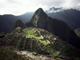 Inca Site, Machu Picchu, Unesco World Heritage Site, Peru, South America Prints by Rob Cousins