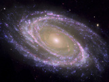The Spiral Galaxy Known as Messier 81 Affiches par  Stocktrek Images