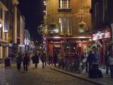 The Temple Bar Pub, Temple Bar, Dublin, County Dublin, Republic of Ireland (Eire) Art par Sergio Pitamitz