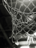 Närbild av basketnät Affischer