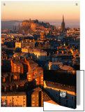 Edinburgh Castle and Old Town Seen from Arthur's Seat, Edinburgh, United Kingdom Plakater av Jonathan Smith