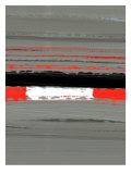 Abstract Red 4 Poster by  NaxArt