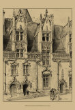 Ornate Facade II Prints by Albert Robida