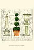 Garden Topiary Print by Ginny Joyner