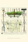 Garden Gate II Poster by Ginny Joyner