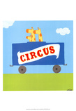 Circus Train II Arte por Erica J. Vess