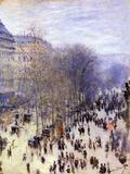 Boulevard Des Capucines, 1873 Giclée-Druck von Claude Monet