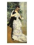 La danse à la ville, 1883 Reproduction procédé giclée par Pierre-Auguste Renoir