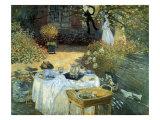 The Luncheon, 1876 Giclée-Druck von Claude Monet