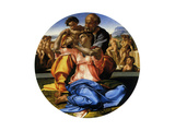 Doni Tondo, 1503 Giclee Print by  Michelangelo Buonarroti