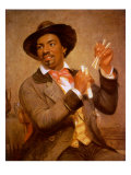 The Bone Player, 1856 Giclee Print by William Sidney Mount
