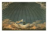 Night Queen with Stars, 1815 Giclee-trykk av Karl Friedrich Schinkel