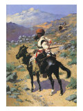 An Indian Trapper, 1889 Giclee Print by Frederic Sackrider Remington