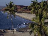 Chapora Fort and Beach, Goa, India Photographic Print by Alain Evrard