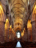 Interior of St. Magnus Cathedral, Kirkwall, Mainland, Orkney Islands, Scotland, UK Photographic Print by Patrick Dieudonne
