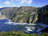 Slieve League, Bunglass Point, County Donegal, Ulster, Republic of Ireland Photographic Print by Patrick Dieudonne