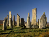 Callanish Standing Stones, Isle of Lewis, Outer Hebrides, Scotland Reproduction photographique par Patrick Dieudonne