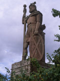 Statue of William Wallace, Stirling, Stirlingshire, Scotland, UK Reproduction photographique par Patrick Dieudonne