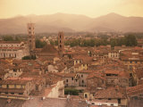 Lucca, Tuscany, Italy, Europe Lámina fotográfica por Robert Cundy
