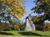 Old Hook Windmill, East Hampton, the Hamptons, Long Island, New York State, USA Photographic Print by Robert Harding